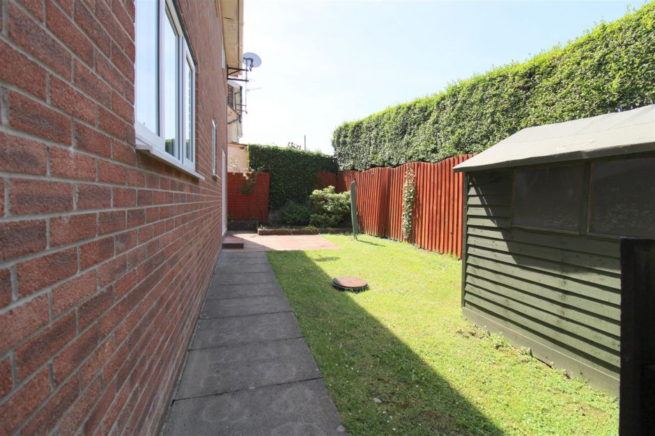 Another view of rear garden